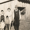 Luther, Laura, Gerald, Randal & Gloria Mangrum 1942