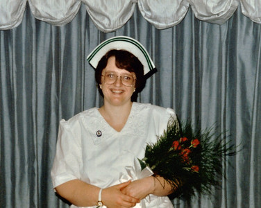 Nursing grad pic - Orillia Campus of Georgian College - Graduated with a 97% average - top of my class!  :)