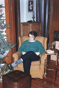xmas 1985? - at my sister's house (on Ross St)