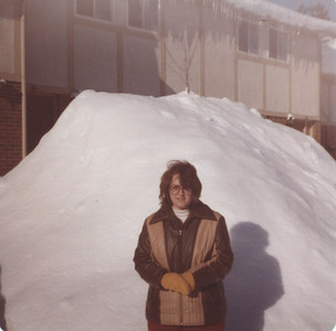 January 1981 - Tamarack Woods townhouse - lots of snow that year!