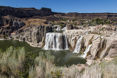 Shoshone Falls in Twin Falls, Idaho
