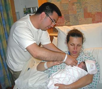 MARINA AND JON'S NEW BABY