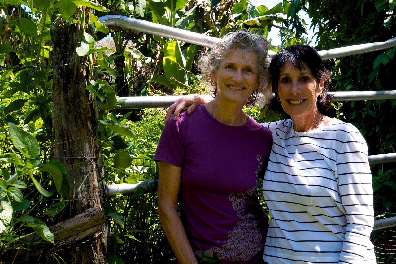 Garden Rita Okeane in Haiku- Rita and Barb