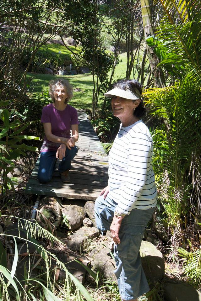 Bridge- Garden Rita Okeane in Haiku