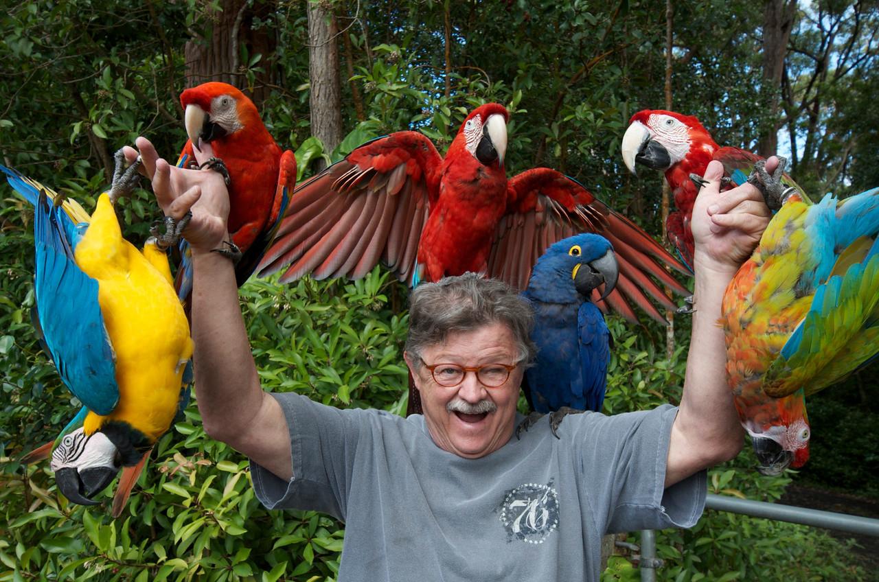 Bud the Birdman on the Road to Hana