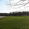 a panorama shot showing the main road leading through to the back of the cemetary.  The section Dad was to be buried in was reserved for the Jewish faith - not quite as many headstones.  It was down this road and to the right.