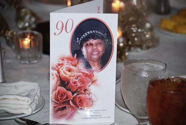 MOTHER LUCILLE SPANN 90TH BIRTHDAY CELEBRATION PART 1