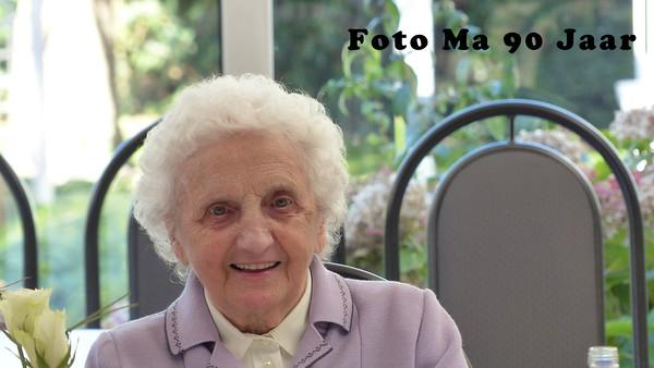 Foto Ma 90 Jaar