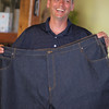 K & L bought Dave a pair of  jeans in Picton. Waist = 56; leg = 30 - best $2.00 ever spent