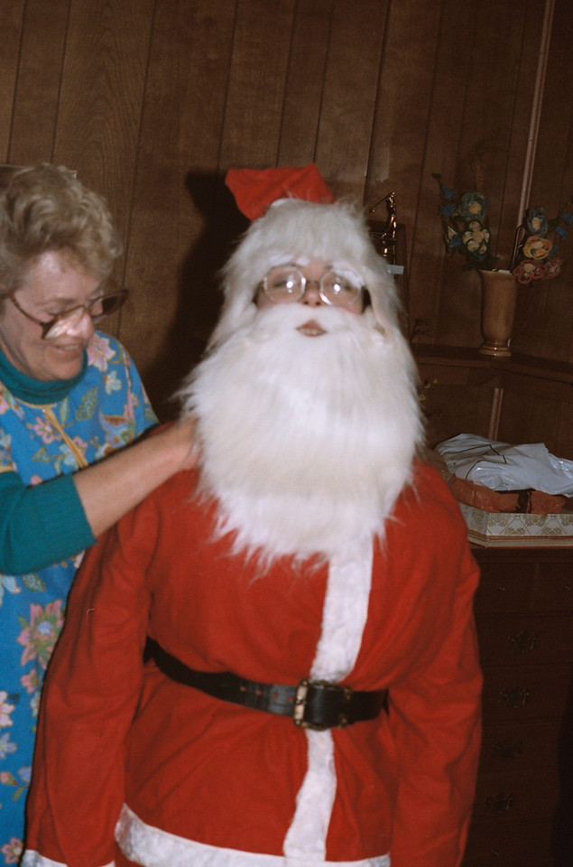 I think this is Rosemary .. she did Santa one year