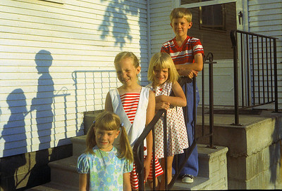 1st day of school 1973