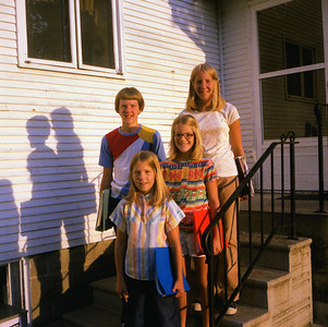 1st day of school 1978