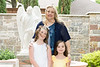 Mackenzie's Communion, Mackenzie, Keira and Cathy