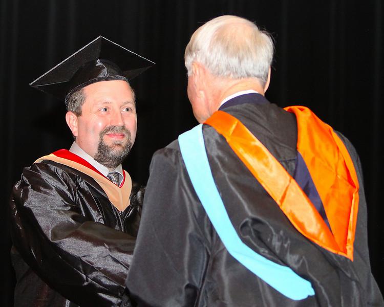 Mack Receiving Diploma