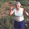 Summer 1980:  Sylvia still maintained the vegetable garden.