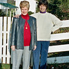 October 1992:  Judy and Lee K.
