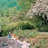 May 1997:  Ben and Judy planting.
