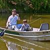 May 2002:  Jeb Br has loaned us a fishing boat.