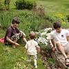 May 2002:  Spring planting and weeding.