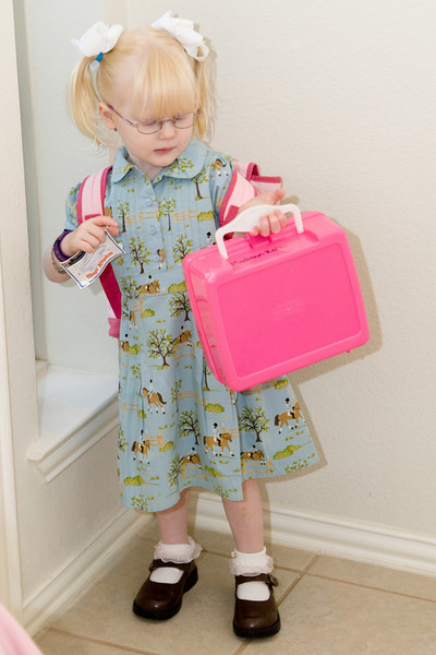 Maddy's first day of school!