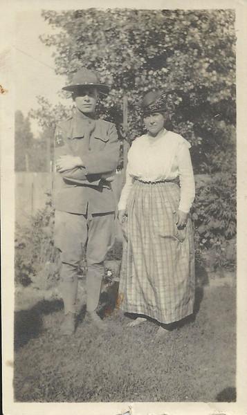 Lloyd Curtis and Mom Mae