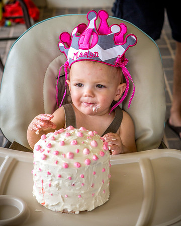 Maelyn's First Birthday Party