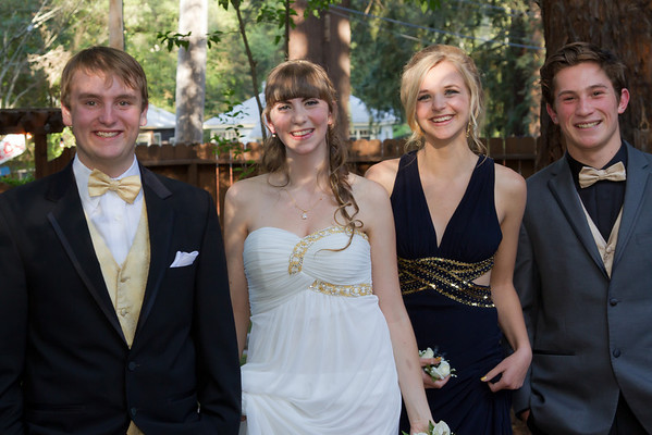 Mahri, Sierra, Avery, & Billy Senior Prom 2014