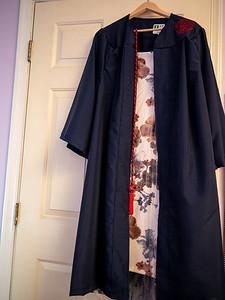14 mai : la veille de la ceremonie de remise de diplome de Laura
