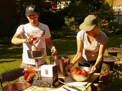 Making Sauce - September 2015