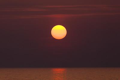 Sunset, Aberystwyth