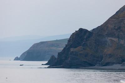 Coastline north of Aberystwyth