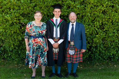 Malcolm's Graduation with Katy and me (Jock)