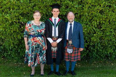 Malcolm's Graduation with Katy and me (Jock)