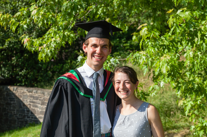 Malcolm's Graduation - with Laura