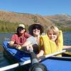 Paddling on Lake Mary