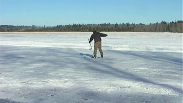 Man/Bear/Pig on Ice!
