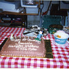 """Birthday cake from the """"walkers"""""""