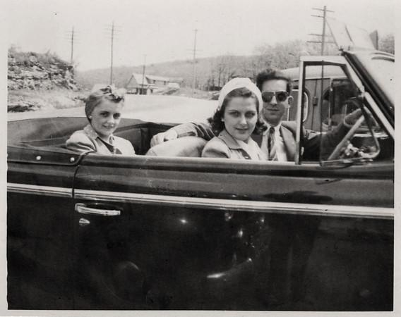 Fran, Ginny & friend Ann Sedoff