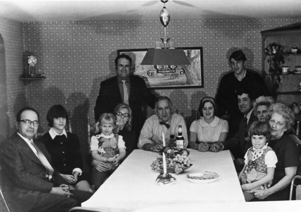 The Maranhas and Morey families c1970.