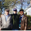Jeff flanked by his two grandfathers -- Sam on the left, and Fran on the right