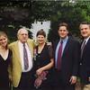 Nicki, Fran, Cecile, Jeff & Rick at Jane's wedding, 2003