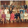 Fran (in the brown suit in the back row) at the 50th reunion of the Arlington High class of 1934