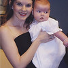 Mommy and Camden at Kristen's wedding