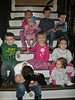 Group photo from our playdate: Landon, Hudson, baby Colson, Annaleigh, Lilly Katherine, Cullen, Grayson, Camden, Claire and Carlyle