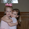 Hallie and Morgan at ballet