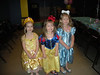 Avery (Belle), Claire (Snow White) and Camden (Cinderella)