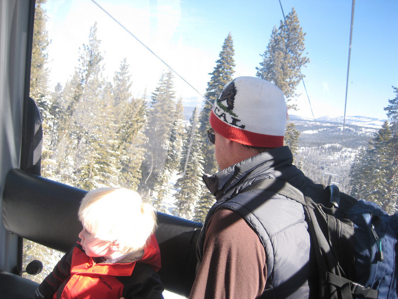 gondola ride at Northstar resort