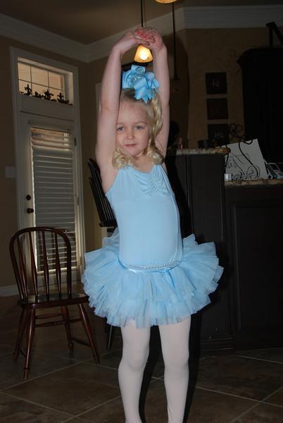 Always a dance'n and twirl'n