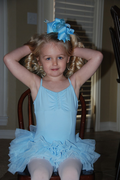 My little blue ballerina!