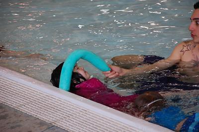 Hannah's swim lesson